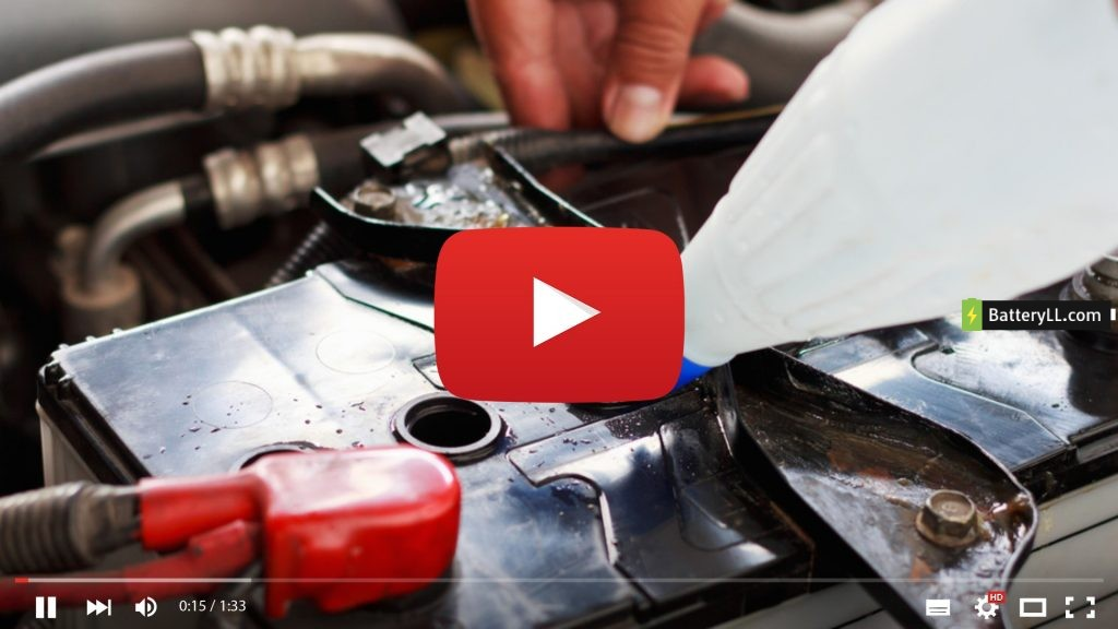 How To Fill Water In Lead Acid Battery